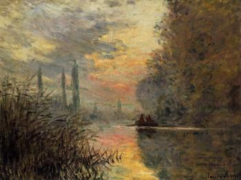 Claude Oscar Monet : Evening at Argenteuil