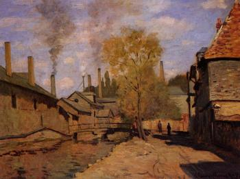 Factories at Deville, near Rouen