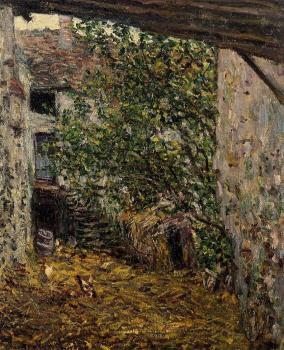 Claude Oscar Monet : Farmyard