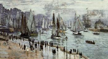 Fishing Boats Leaving the Port of Le Havre
