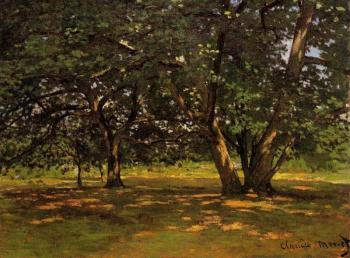 Claude Oscar Monet : Fontainebleau Forest