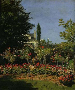 Claude Oscar Monet : Garden in Flower