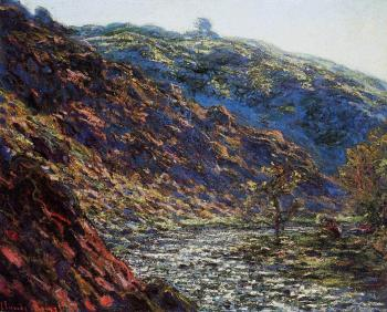Claude Oscar Monet : Gorge of the Petite Creuse