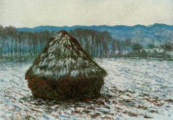 Claude Oscar Monet : Grainstack