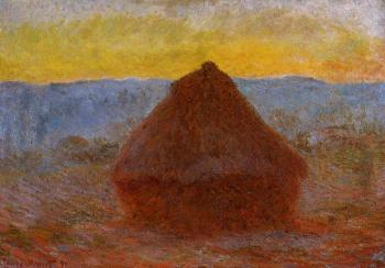 Claude Oscar Monet : Grainstack II