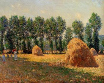 Haystacks at Giverny II