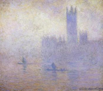 Claude Oscar Monet : Houses of Parliament, Fog Effect II