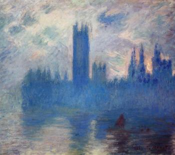 Claude Oscar Monet : Houses of Parliament, Westminster