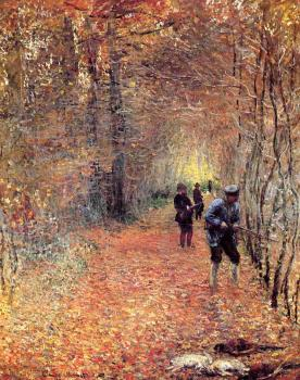 Claude Oscar Monet : Hunting