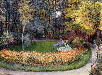 Claude Oscar Monet : In the Garden