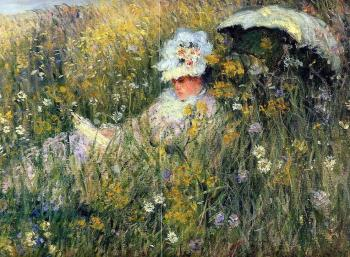 Claude Oscar Monet : In the Meadow