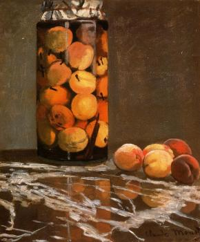 Claude Oscar Monet : Jar of Peaches II
