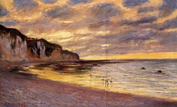 Claude Oscar Monet : L'Ally Point, Low Tide