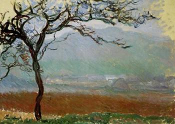 Claude Oscar Monet : Landscape at Giverny