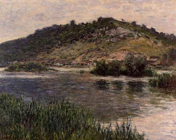 Claude Oscar Monet : Landscape at Port-Villez