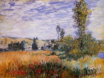 Claude Oscar Monet : Landscape at Vetheuil