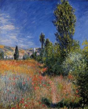 Claude Oscar Monet : Landscape on the Ile Saint-Martin