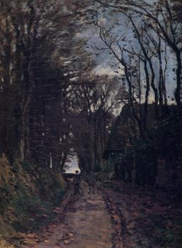 Claude Oscar Monet : Lane in Normandy
