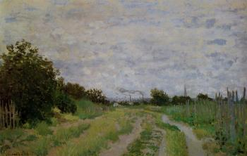Claude Oscar Monet : Lane in the Vineyards at Argenteuil