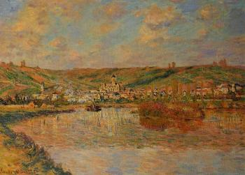Claude Oscar Monet : Late Afternoon in Vetheuil