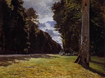 Claude Oscar Monet : Le Pave de Chailly in the Fontainbleau Forest