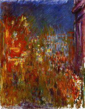 Claude Oscar Monet : Leicester Square at Night