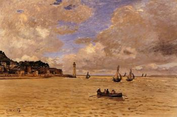 Claude Oscar Monet : Lighthouse at the Hospice