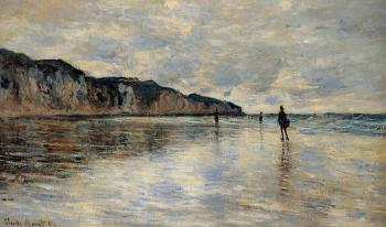 Claude Oscar Monet : Low Tide at Pourville