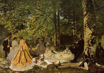 Claude Oscar Monet : Luncheon on the Grass