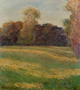 Claude Oscar Monet : Meadow in the Sun