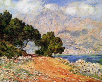 Claude Oscar Monet : Menton Seen from Cap Martin