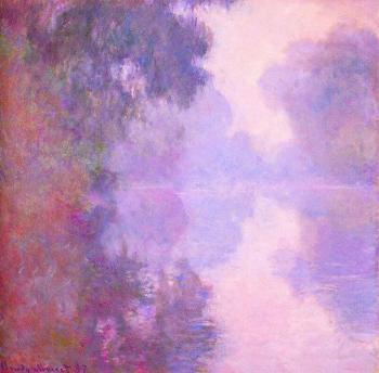 Claude Oscar Monet : Misty Morning on the Seine