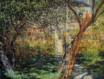 Claude Oscar Monet : Monet's Garden at Vetheuil