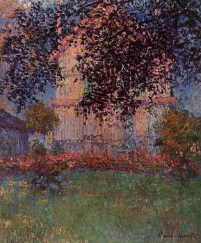 Claude Oscar Monet : Monet's House in Argenteuil