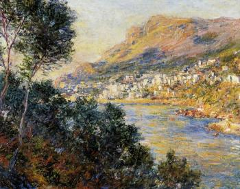 Claude Oscar Monet : Monte Carlo Seen from Roquebrune