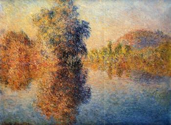 Claude Oscar Monet : Morning on the Seine