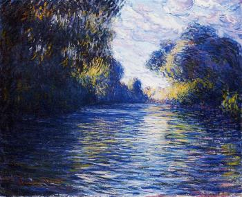 Claude Oscar Monet : Morning on the Seine II