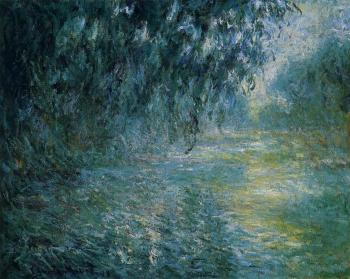 Claude Oscar Monet : Morning on the Seine in the Rain