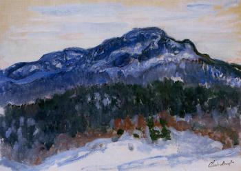 Claude Oscar Monet : Mount Kolsaas