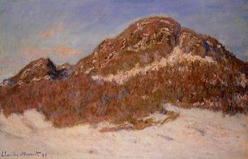 Claude Oscar Monet : Mount Kolsaas II