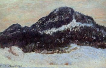 Claude Oscar Monet : Mount Kolsaas III