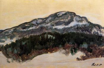 Claude Oscar Monet : Mount Kolsaas IV