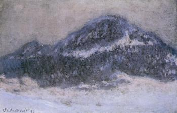 Claude Oscar Monet : Mount Kolsaas in Misty Weather