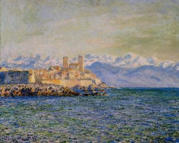 Claude Oscar Monet : Old Fort at Antibes