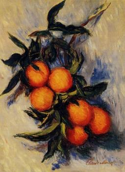 Claude Oscar Monet : Orange Branch Bearing Fruit