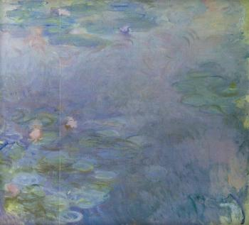 Claude Oscar Monet : Pale Water-Lilies