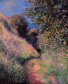 Claude Oscar Monet : Path at Pourville