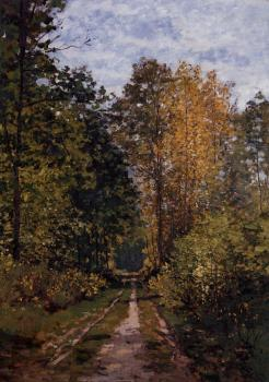 Claude Oscar Monet : Path in the Forest