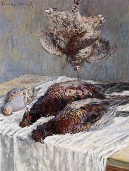 Claude Oscar Monet : Pheasants, Woodcocks and Partridges
