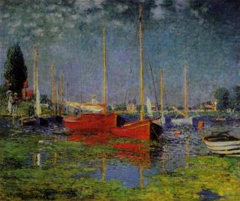 Claude Oscar Monet : Pleasure Boats at Argenteuil